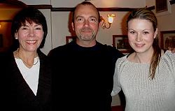 Jocelyn & Kristina with Trevor Silvestor, Quest Institute