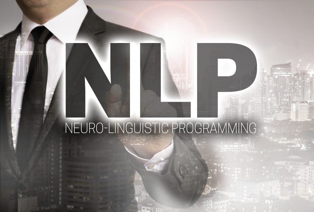 NLP is shown by businessman concept.